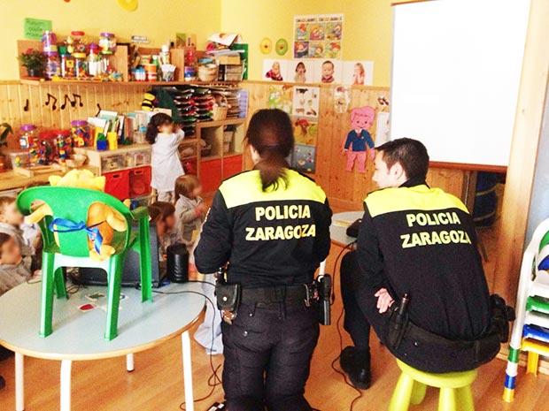 Seguridad vial con la Policía de Zaragoza