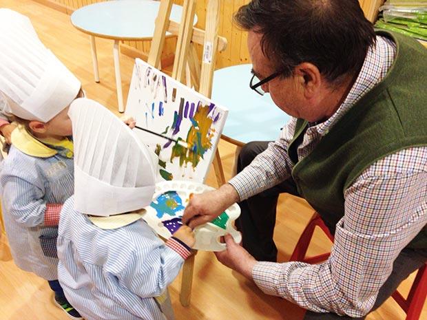 Taller de arte con Gómez Luna