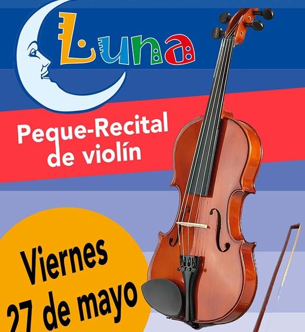 Peque-recital de violín