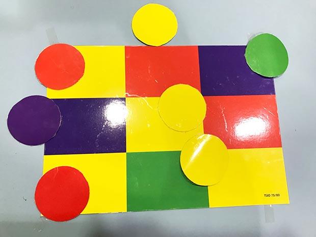 Actividades: igual-diferente, amarillo y rojo, bits del cuerpo humano
