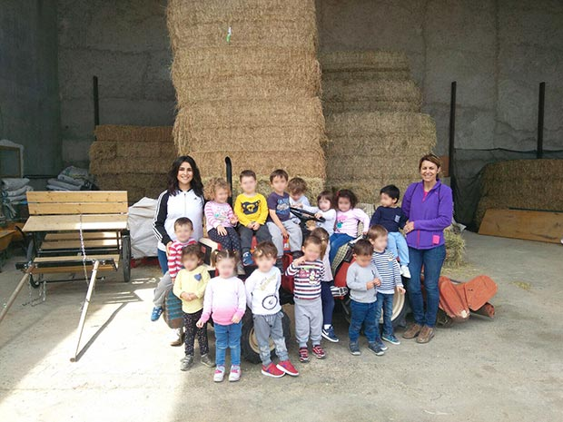 Excursión a la Granja Escuela 2017