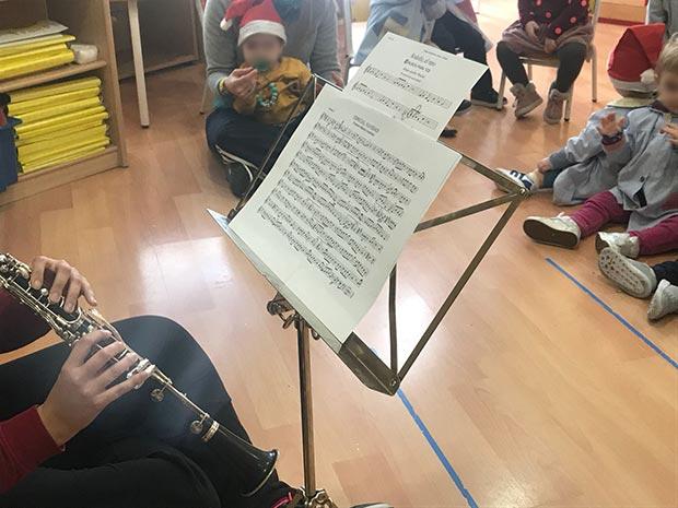 Peque recital Navidad 2018