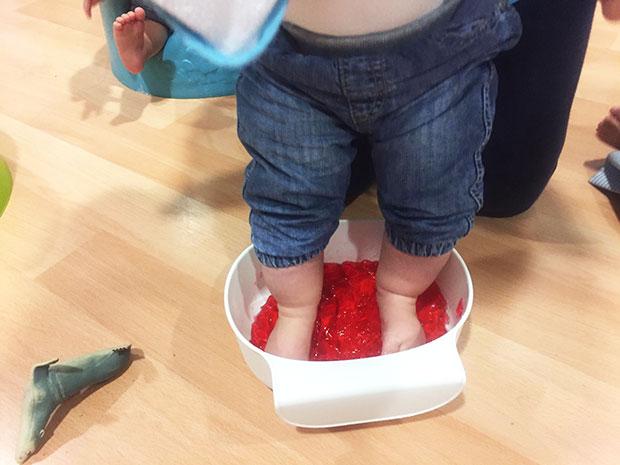 Experimentamos con… gelatina ;)