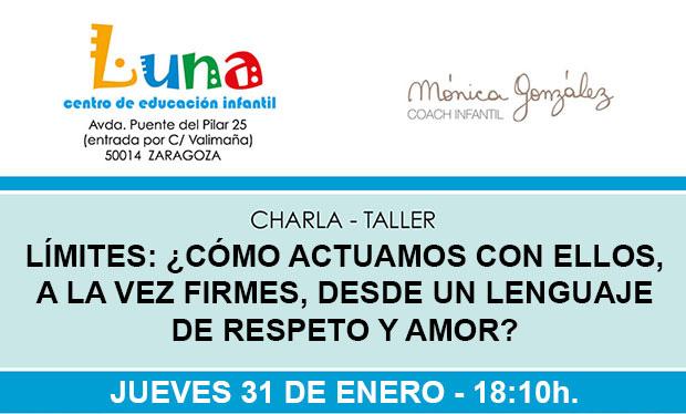 Próxima charla-taller: 31 de enero
