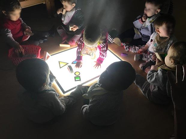 La mesa de luz