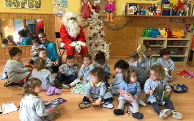 Papá Noel viene a visitarnos