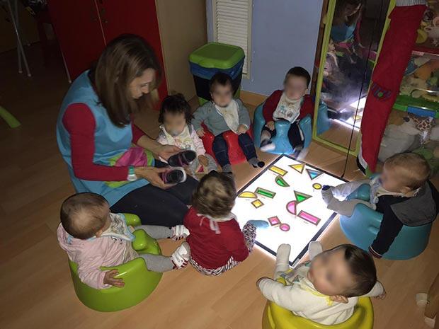 Actividades sensoriales para bebés