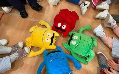 Emociones con nuestro amigo El Monstruo de los Colores