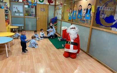 Naviadad con Papá Noel en Luna