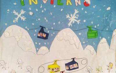 Mural del frío invierno